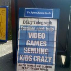 Video games sending kids crazy