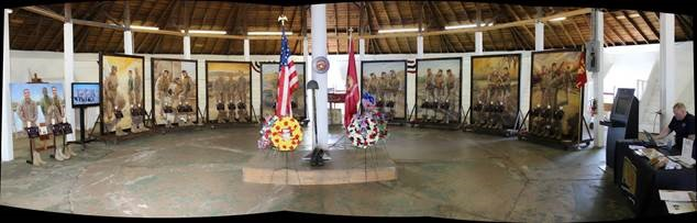Photo reproduced with permission of Lima Company Memorial.