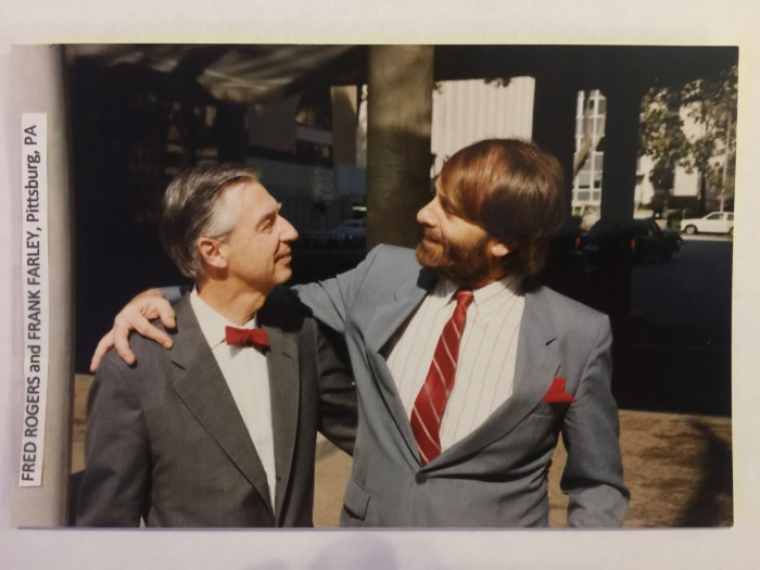 Fred Rogers and Frank Farley, Pittsburgh, PA