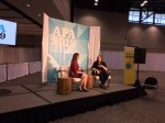 Chrysalis Wright on APA 2019 Live Podcast (photo credit: V. Krishna Kumar)